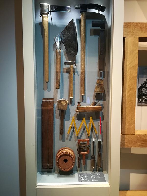 画像:竹中大工道具館 外国の大工道具