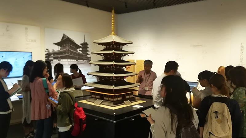 画像:竹中大工道具館 展示