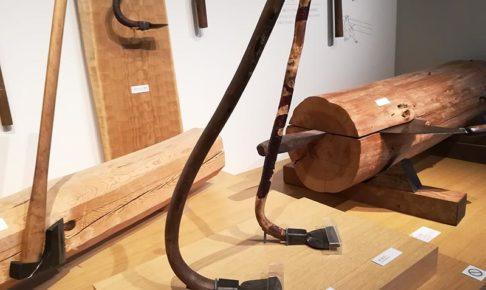 画像:竹中大工道具館 道具