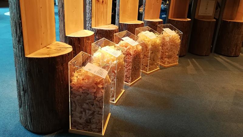 画像:竹中大工道具館 木材